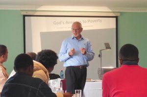 Peter Kopp teaching a class